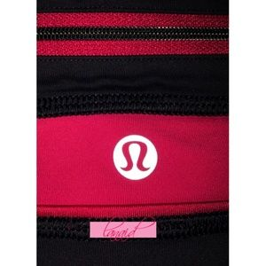 lululemon athletica Pants - Lulu Pace Tight Weave Berry Rumble Pink Reflective